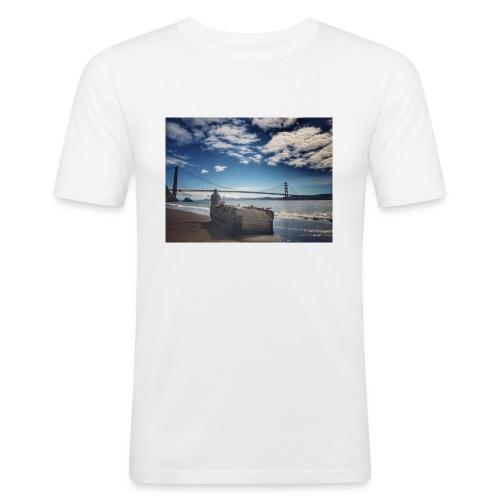poncio - Camiseta ajustada hombre