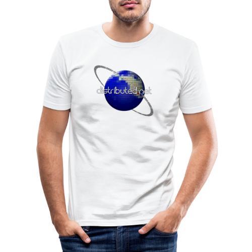 full logo border - Men's Slim Fit T-Shirt