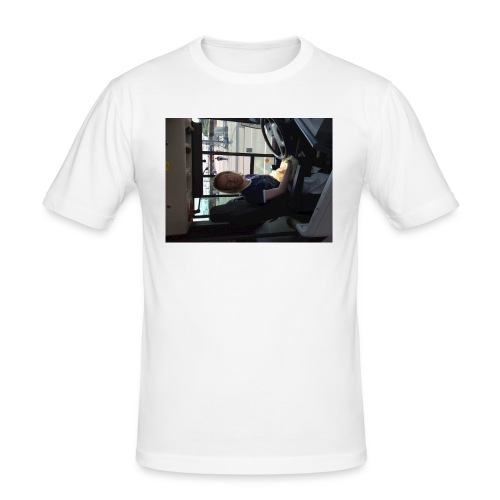 Buss - Slim Fit T-shirt herr