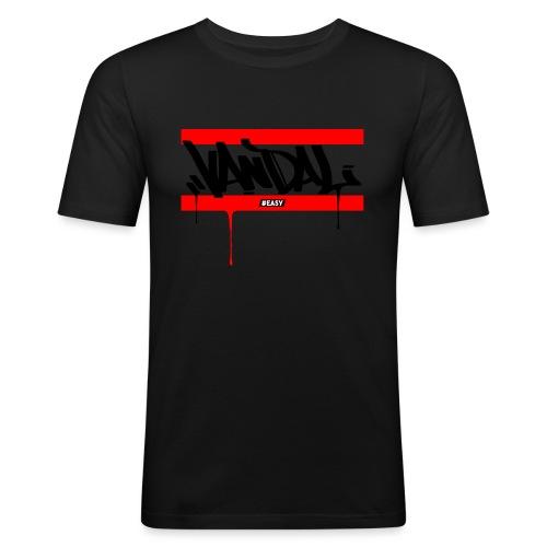 #EASY Graffiti Vandal T-Shirt - Maglietta aderente da uomo
