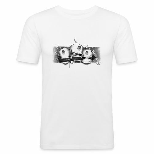 Dont ! Moe Frisco Ver01 - Herre Slim Fit T-Shirt