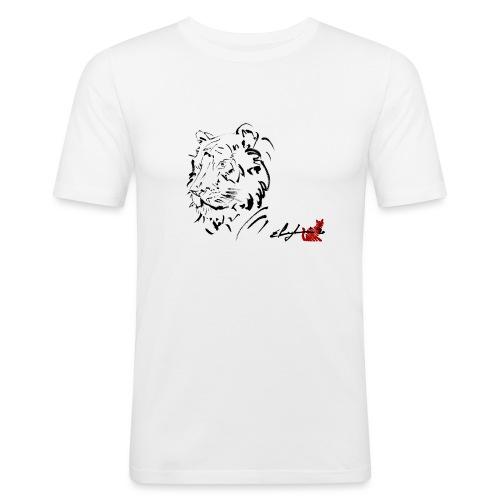 TIGRE - Maglietta aderente da uomo