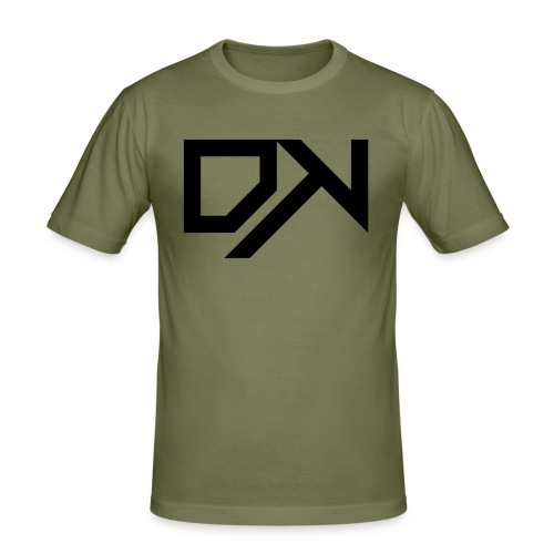 DewKee Logo Samung Galaxy S4 Case Black - Men's Slim Fit T-Shirt