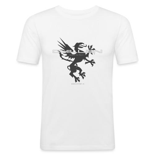 Chillen-gym - Men's Slim Fit T-Shirt