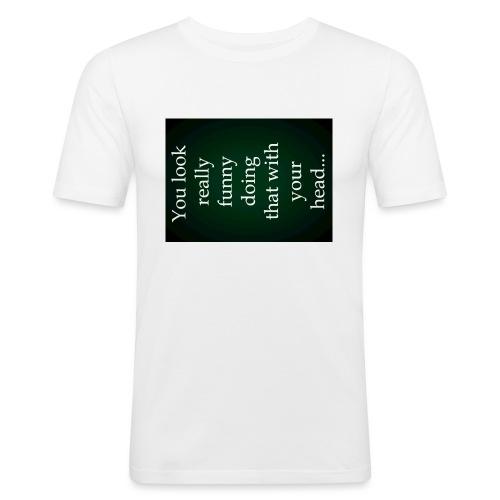 funny - slim fit T-shirt