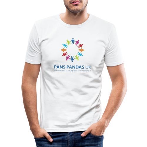 PANS PANDAS UK - Men's Slim Fit T-Shirt