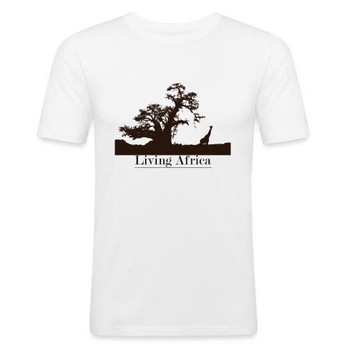 Ultimate_Living_Africa-png - Maglietta aderente da uomo