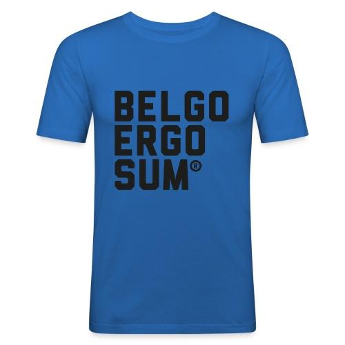 Belgo Ergo Sum - Men's Slim Fit T-Shirt