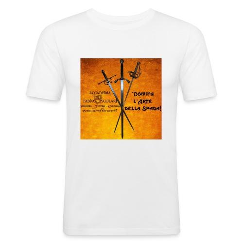 3spade-jpg - Maglietta aderente da uomo