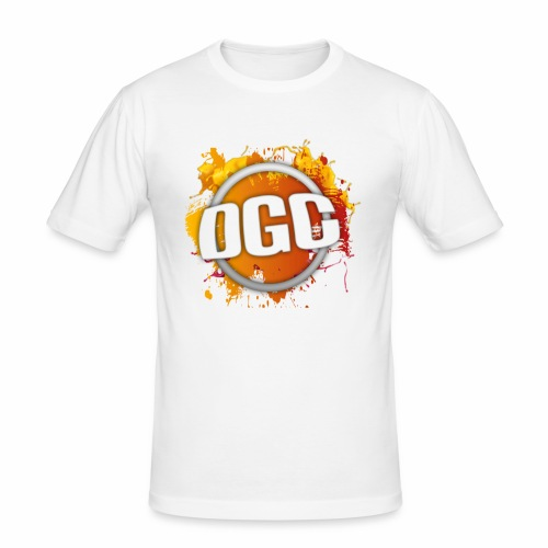 Merchlogo mega png - Mannen slim fit T-shirt