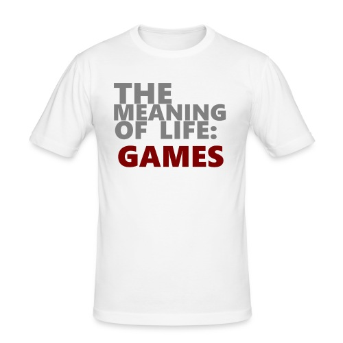 T-Shirt The Meaning of Life - slim fit T-shirt