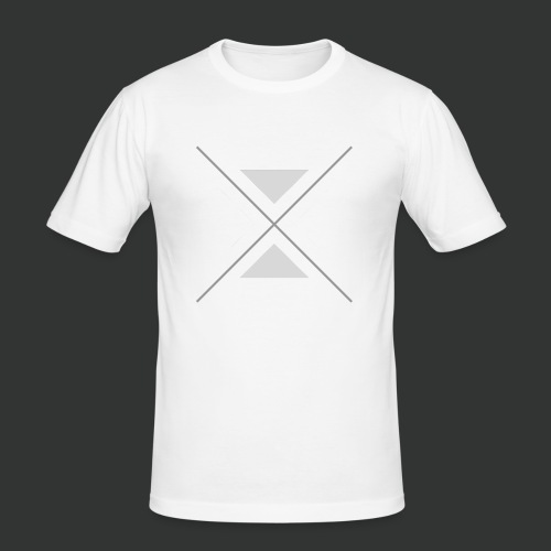 hipster triangles - Men's Slim Fit T-Shirt