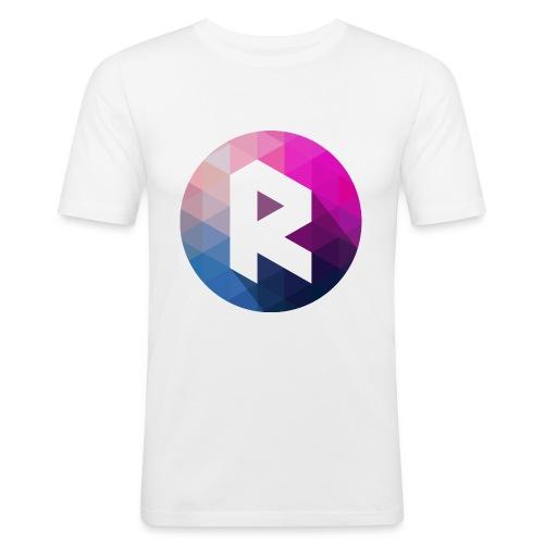 radiant logo - Men's Slim Fit T-Shirt