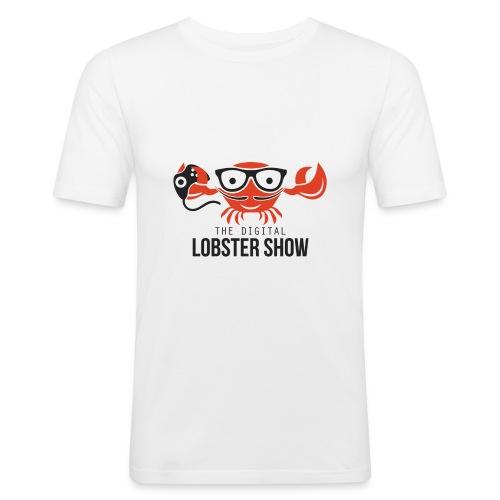Vrouwen T-shirt Digitallobster - Mannen slim fit T-shirt