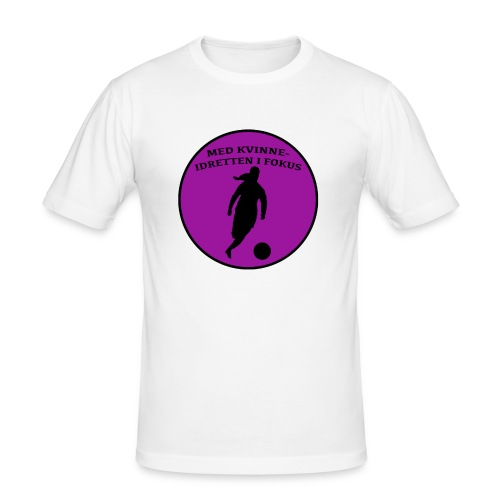 Logo - Slim Fit T-skjorte for menn