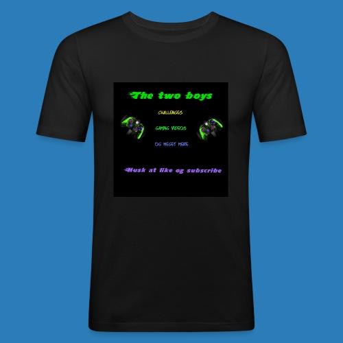 LUISJAKUBINTRO-jpg - Herre Slim Fit T-Shirt