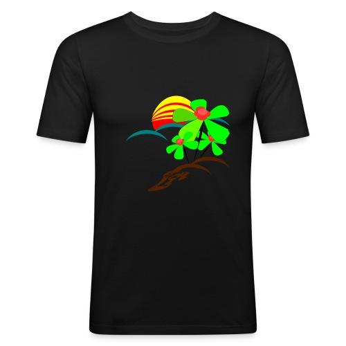 Berry - Men's Slim Fit T-Shirt