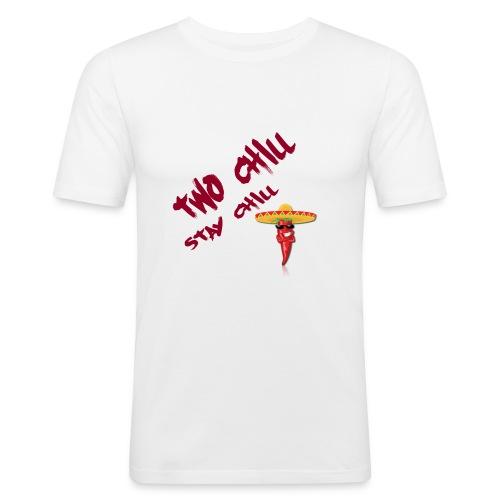 STAY CHILL SHIRT 2 - Slim Fit T-shirt herr
