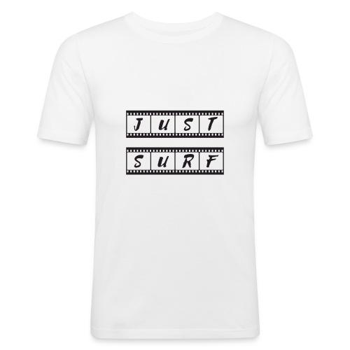 Just Surf - Camiseta ajustada hombre