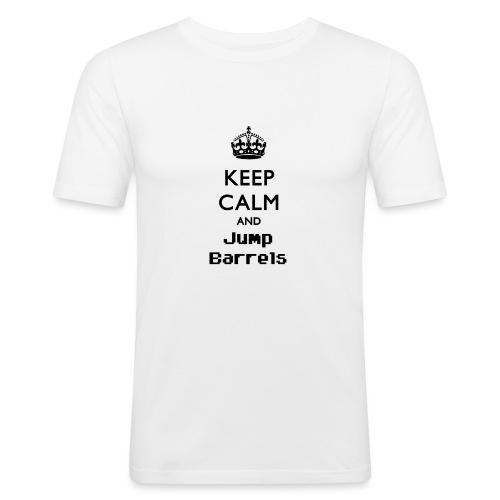 Jump Barrels - Camiseta ajustada hombre