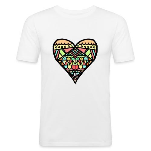 Heart - Camiseta ajustada hombre