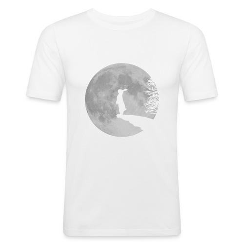 rabbit_wolf-png - Men's Slim Fit T-Shirt