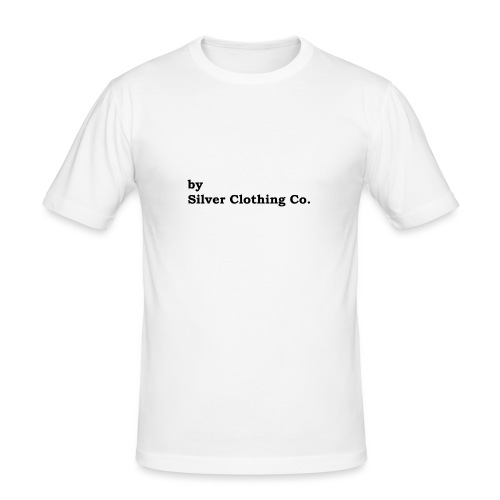 by Silver Clothing Co. - Herre Slim Fit T-Shirt