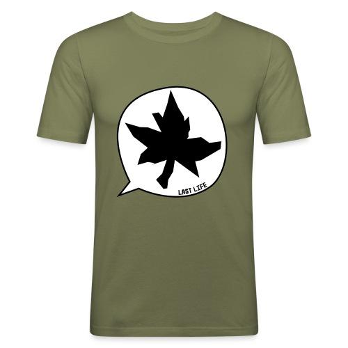 Speech Bubble Last Life - Men's Slim Fit T-Shirt