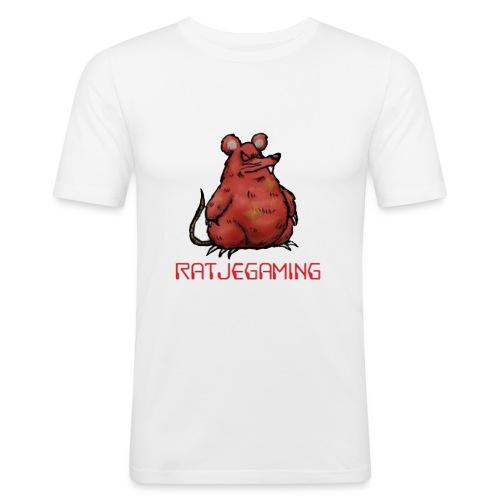 RatjeGaming Onderzetters - Mannen slim fit T-shirt
