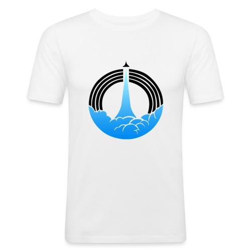 Pursue Hoodie - Men's Slim Fit T-Shirt
