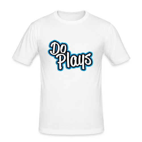 Mannen Baseball | Doplays - Mannen slim fit T-shirt