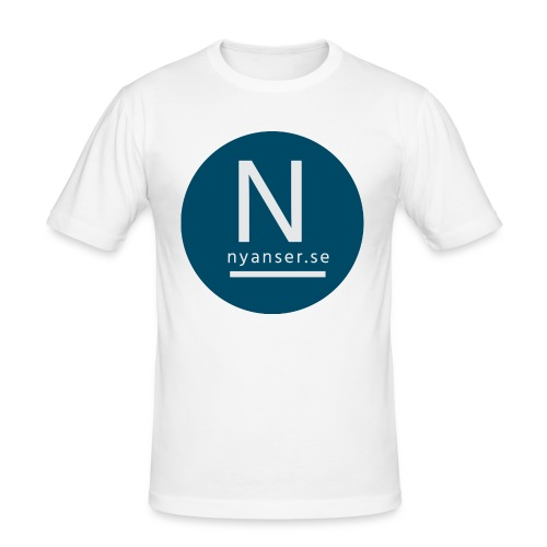 Nyanser.se mugg - Slim Fit T-shirt herr