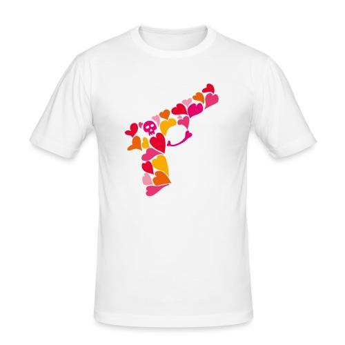 Lovegun - Slim Fit T-shirt herr