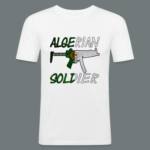Algerian Soldier Trui (Heren) - slim fit T-shirt