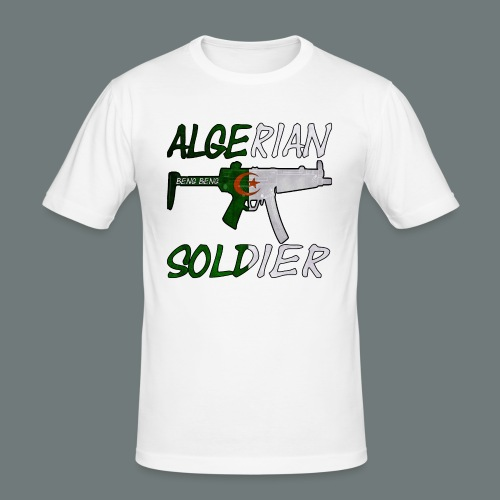 Algerian Soldier Trui (Heren) - Mannen slim fit T-shirt