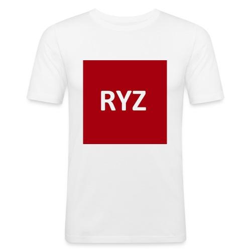 RYZ Pullover - Männer Slim Fit T-Shirt