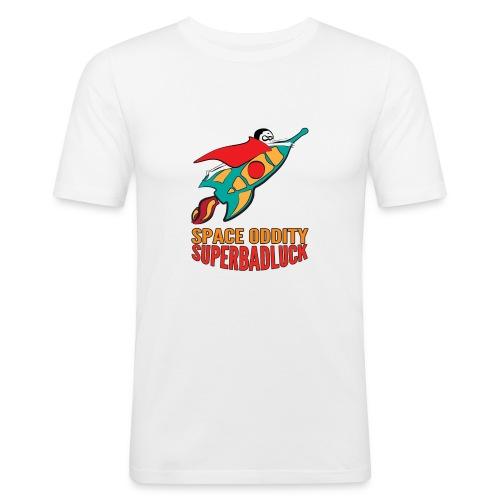 superbadluck- SPACEODDITY - Maglietta aderente da uomo