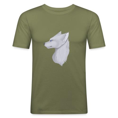 Wolf Skin - Men's Slim Fit T-Shirt