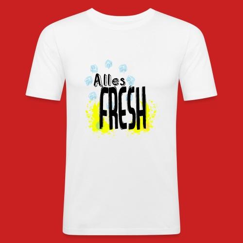 Alles Fresh / Frisch Sommer Eis - Männer Slim Fit T-Shirt
