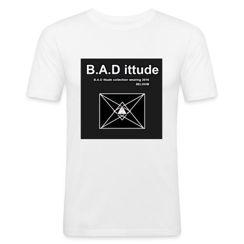 B.A.D ittude - Mannen slim fit T-shirt