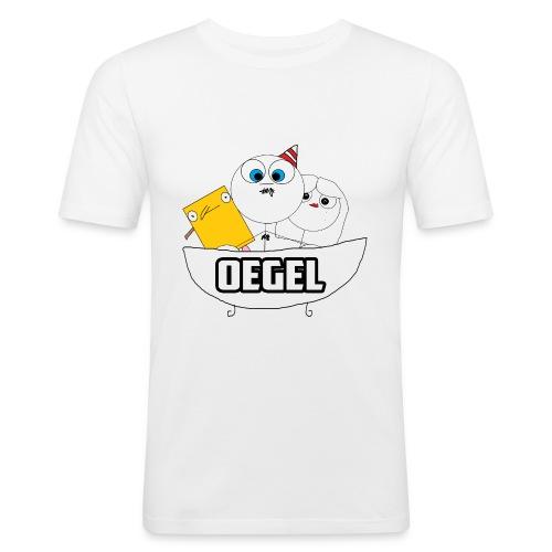 Oegel Feest Shirt! - Mannen slim fit T-shirt