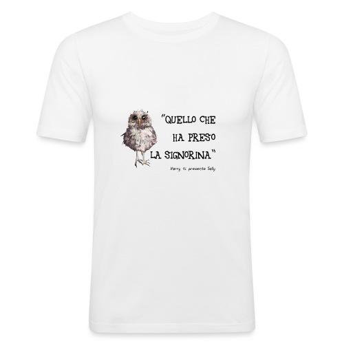 Ooooohhh! - Maglietta aderente da uomo