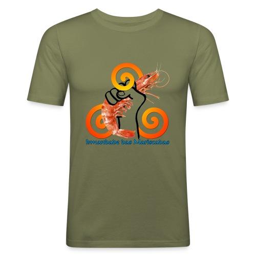 Irmandade das Mariscadas - Camiseta ajustada hombre