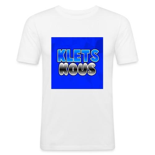 Kletskous Muismat - Mannen slim fit T-shirt
