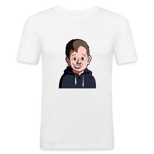 JackHD Pillow Case - Men's Slim Fit T-Shirt