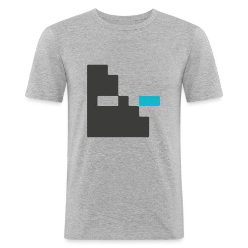 Mortu Logo - Mannen slim fit T-shirt