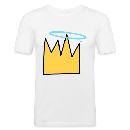 Crown Halo baby's - Mannen slim fit T-shirt