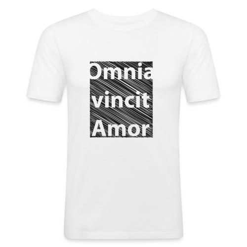 omnia vincit amor - Maglietta aderente da uomo