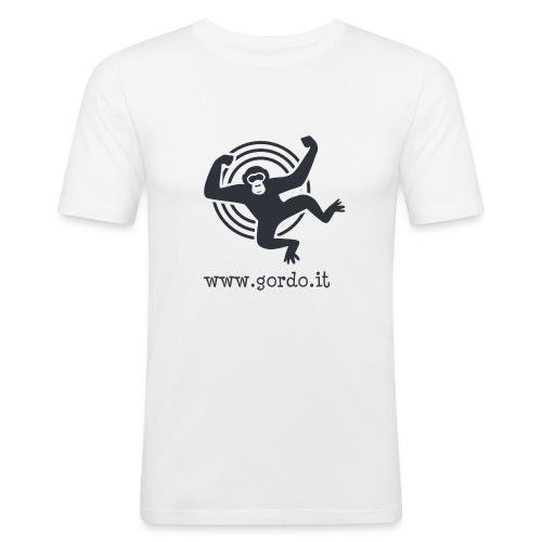 Psychedelic Ape - Gordo collection promotional - Maglietta aderente da uomo