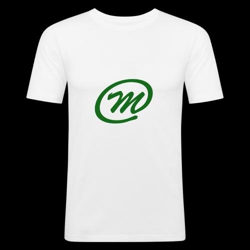 Manqu - Hoodie - Men's Slim Fit T-Shirt